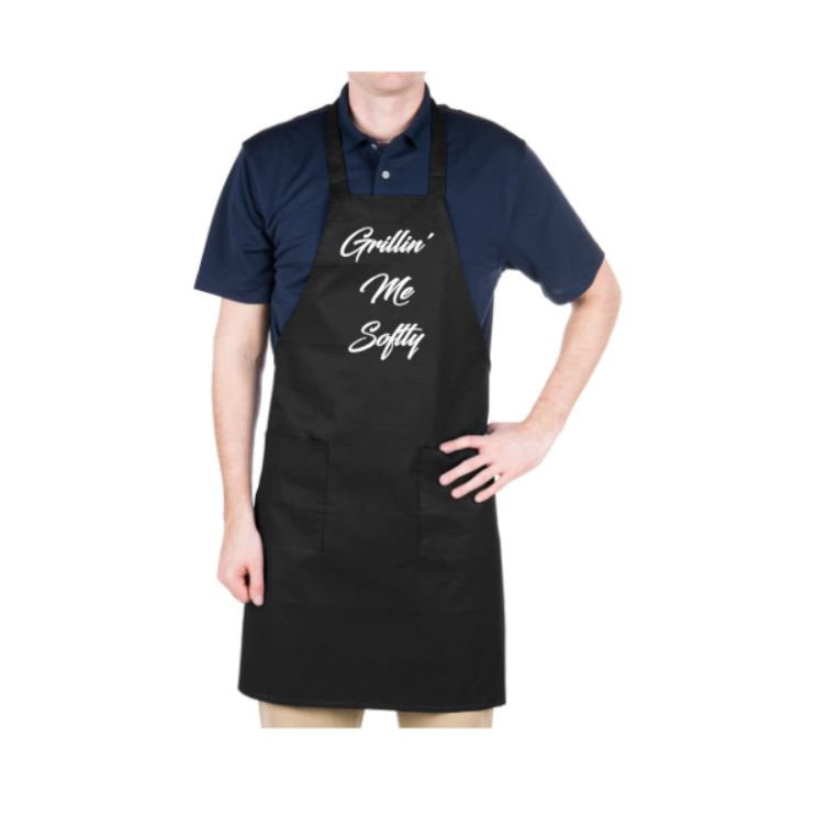 Grillin' Me Softly Apron - customgiftstore.com