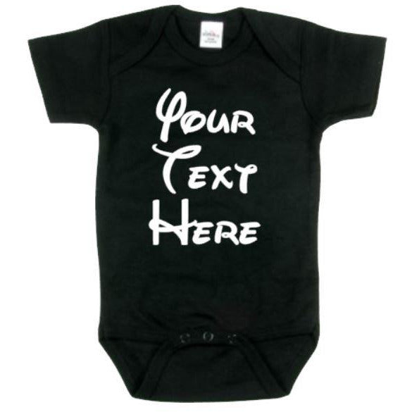 Your Text Here Bodysuit - customgiftstore.com