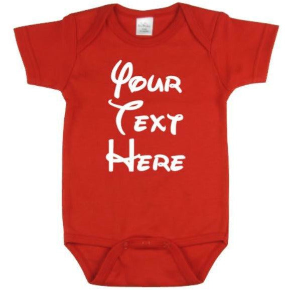 Your Text Here Bodysuit | Custom Bodysuit | Personalized Bady Bodysuit | One Piece | Customized Baby Bodysuit | Baby Clothing| Baby Bodsuits