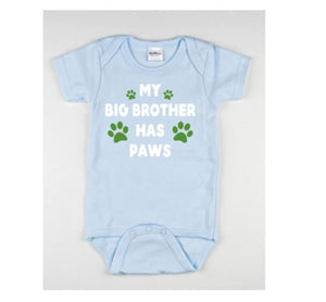 My Big Brother Has Paws Baby Boduitsuit - customgiftstore.com