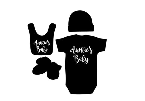 Auntie's Baby Outfit - customgiftstore.com