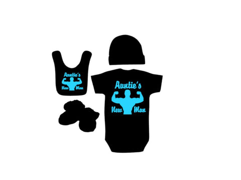 Auntie's New Man Outfit - customgiftstore.com