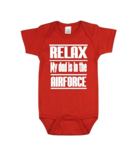 Relax My Dad Is In The Airforce - customgiftstore.com