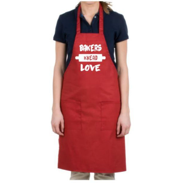 Bakers Knead Love Apron - customgiftstore.com