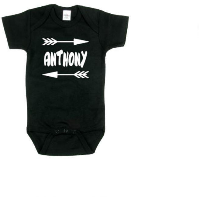 Custom Name Baby Bodysuit - customgiftstore.com