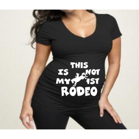 Rodeo Maternity shirt | Maternity Shirts | Pregnancy Shirt | V-neck Maternity Shirt | Crew Neck Maternity Shirt| Funny Pregnancy