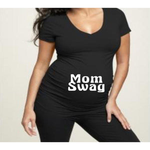 Mom Swag Maternity shirt - customgiftstore.com
