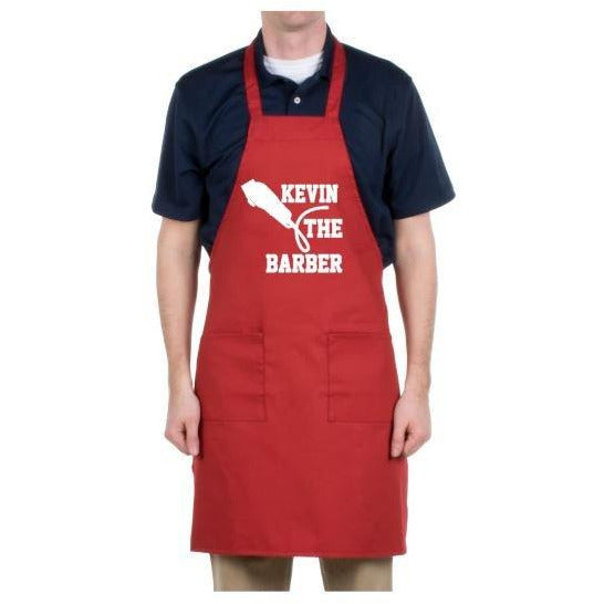 Custom Barber Apron - customgiftstore.com