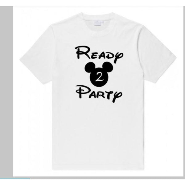 Ready Two Party Kid's Toddler Shirt - customgiftstore.com