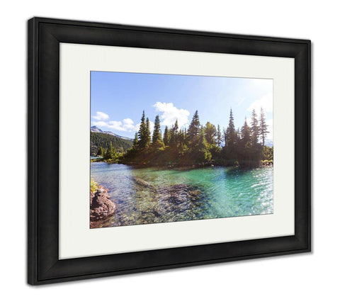 Framed Print, Hike On Garibaldi Lake Near Whistler BC Canada - customgiftstore.com