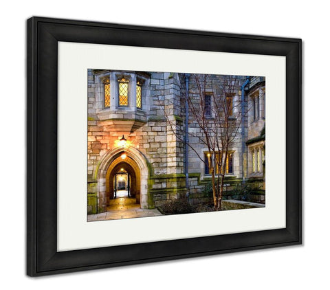 Framed Print, Yale University - customgiftstore.com