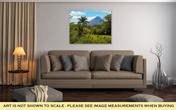 Gallery Wrapped Canvas, Arenal Volcano Costa Rica - customgiftstore.com