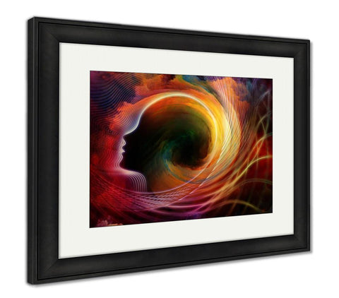 Framed Print, Inside Hues - customgiftstore.com