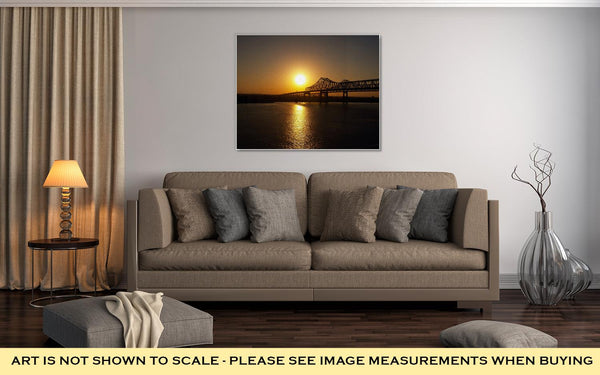 Gallery Wrapped Canvas, New Orleans Sunrise - customgiftstore.com