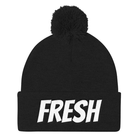 Fresh beanie Pom Pom Knit Cap - customgiftstore.com