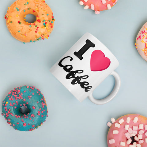 I Love Coffee Mug - customgiftstore.com