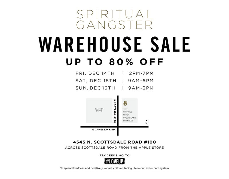 It's Back: Phoenix Warehouse Sale December 14-16th