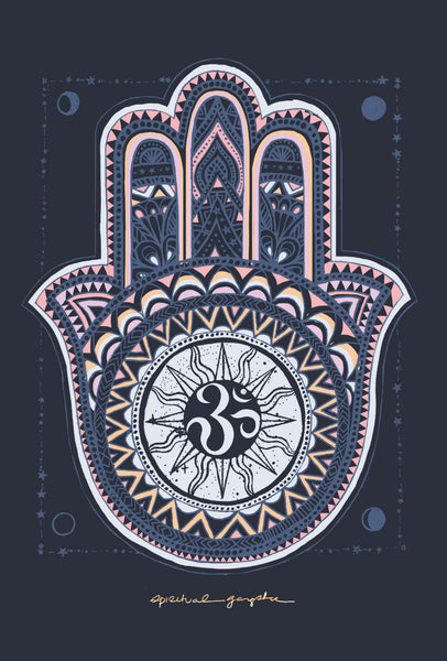 The Word Hamsa Means Five Representing Fingers Of Right Hand For Hindus And Buddhists It Symbolizes Chakras Energy Flow In Body