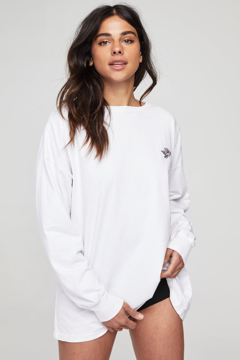 Trust the Universe Oversized Long Sleeve Tee