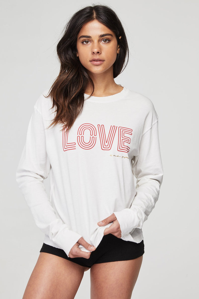 Love Game Changer Long Sleeve Tee
