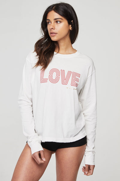 LOVE GAME CHANGER LONG SLEEVE TEE - Spiritual Gangster