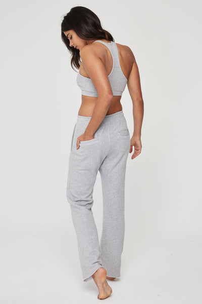 ESSENTIAL SWEATPANT HEATHER GREY - Spiritual Gangster