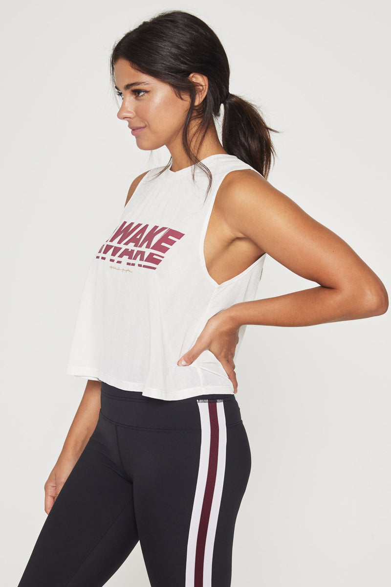 AWAKE ACTIVE CROP TANK