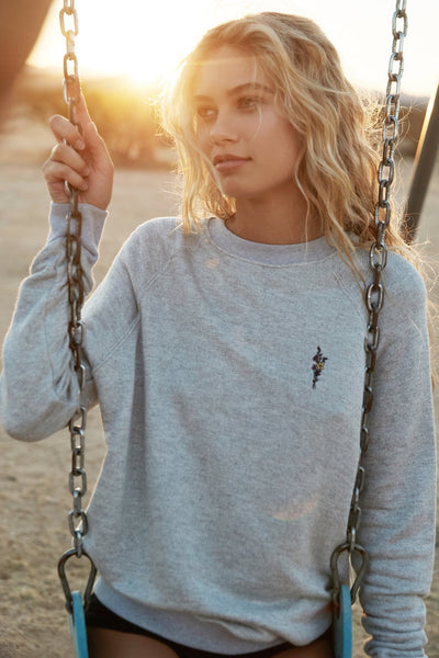 TODAY CLASSIC CREW SWEATSHIRT - Spiritual Gangster