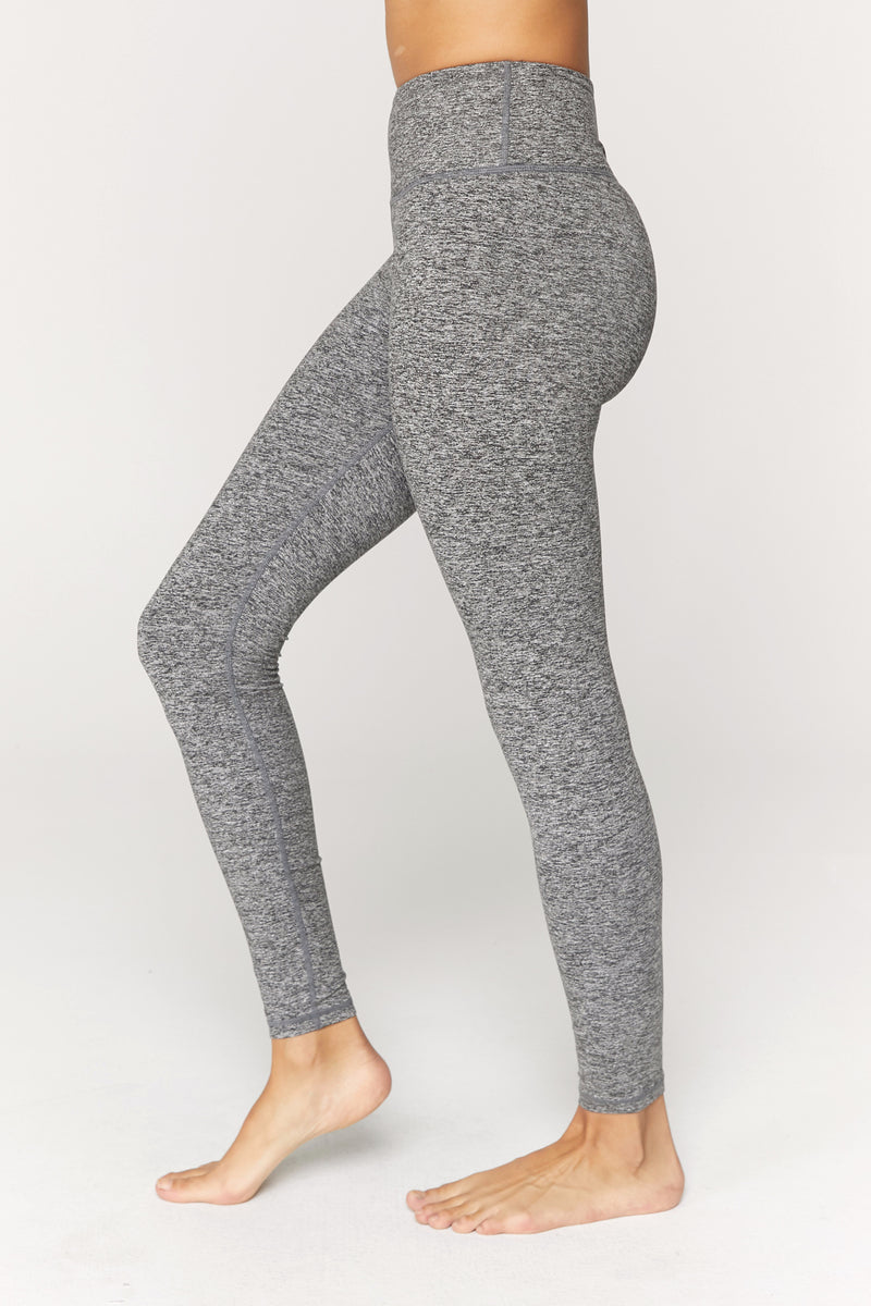 Heathered High Waist 7/8 Legging