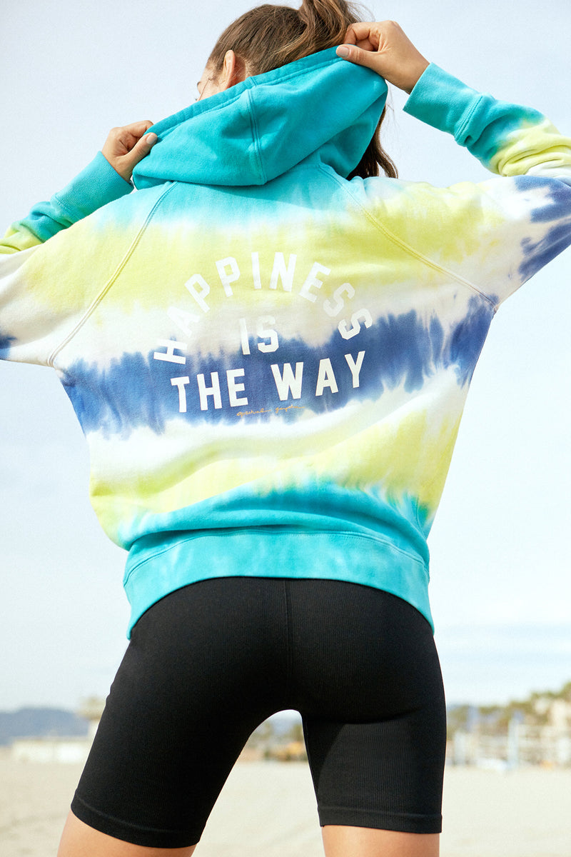 Happiness Is the Way Pullover Hoodie