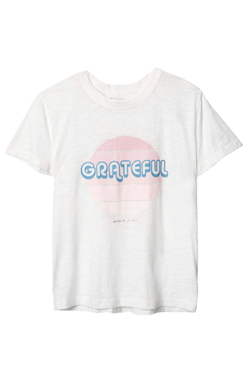 Grateful Sun Band Tee Stardust