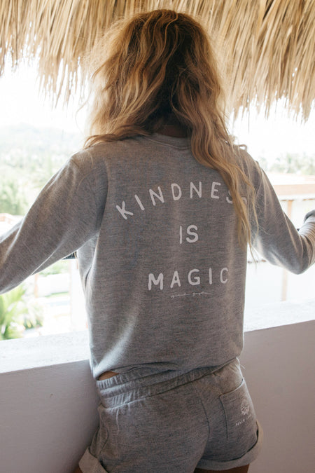 Good Vibes Only V-Neck Pullover