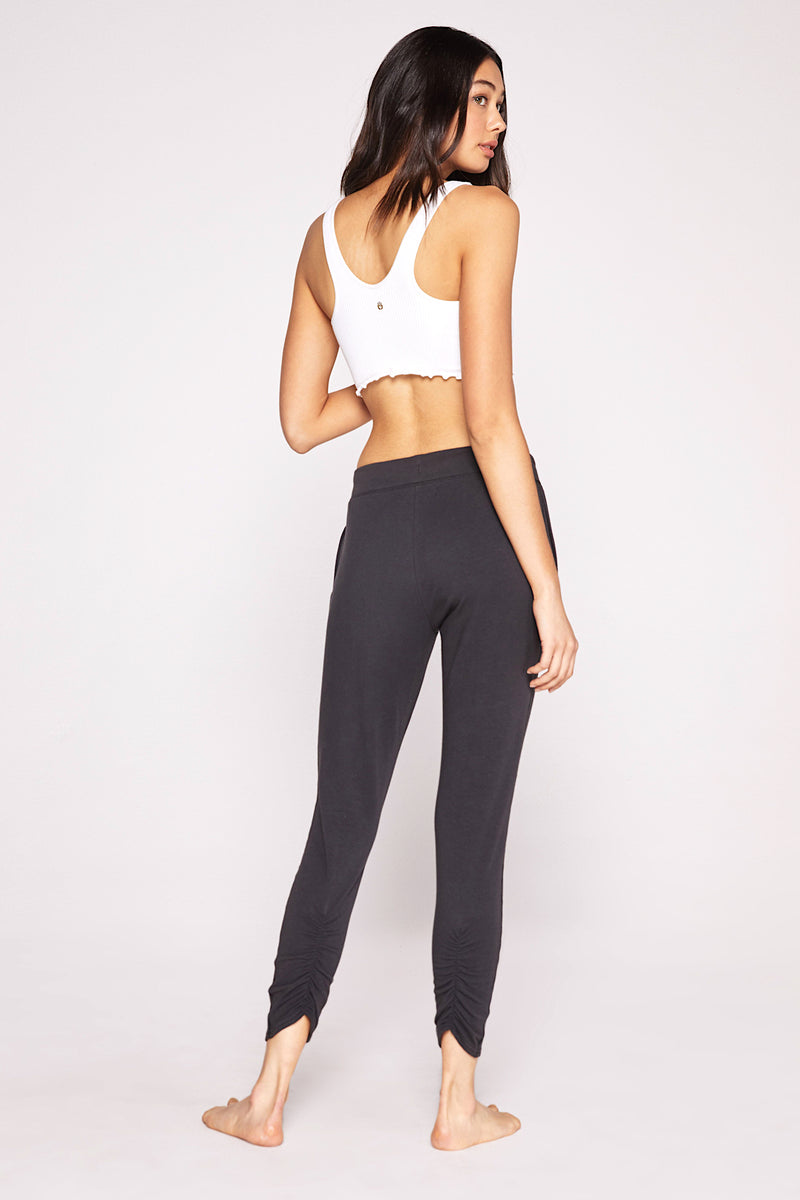 RUCHED UP JOGGER PANT