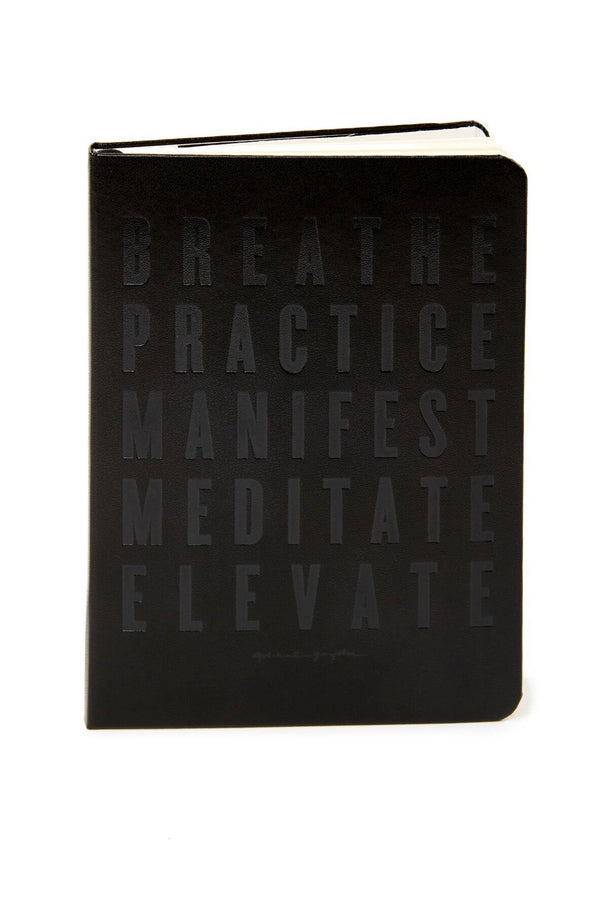 BREATHE JOURNAL BLACK - Spiritual Gangster