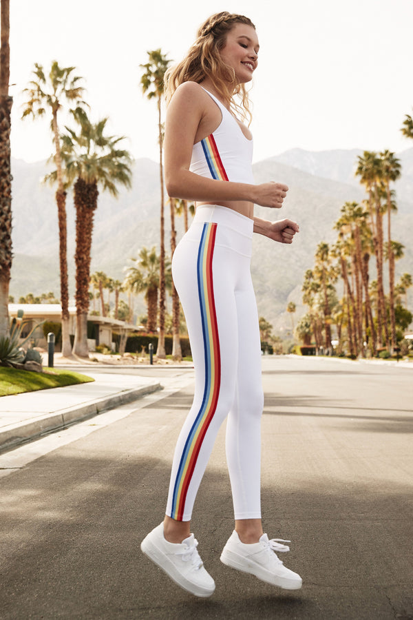 RAINBOW STRIPE TRACK TIGHT