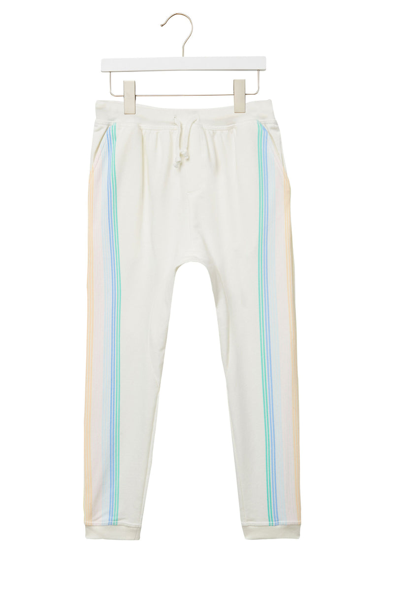 Striped Kids Harem Jogger