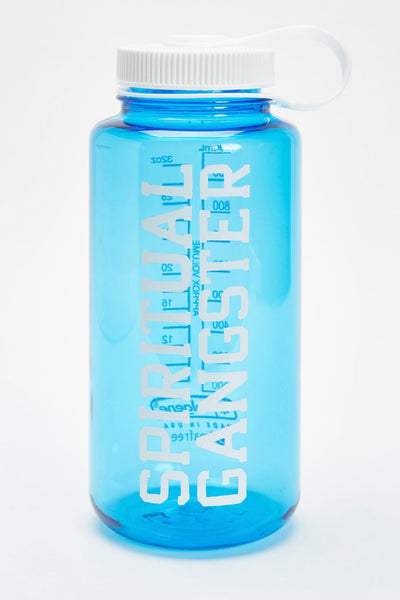 SPIRITUAL GANGSTER VARSITY NALGENE 32OZ WATER BOTTLE ROYAL - Spiritual Gangster