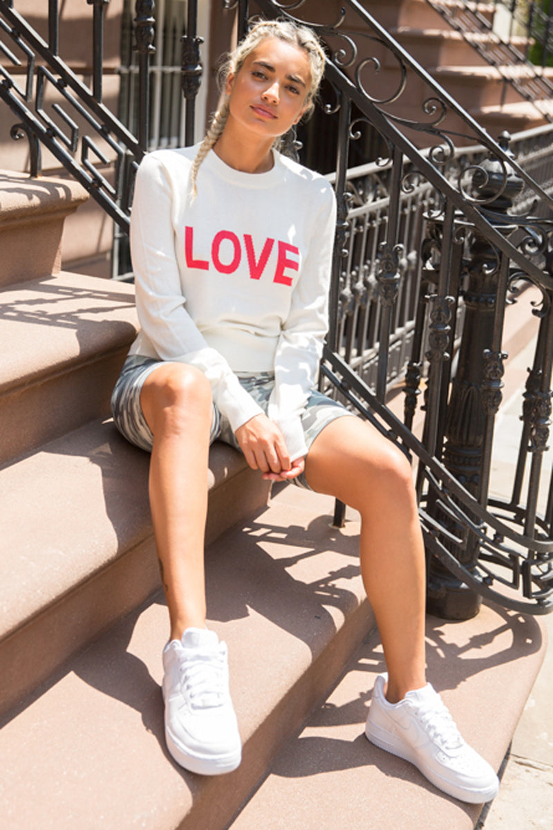 Love Nikki Crop Sweater