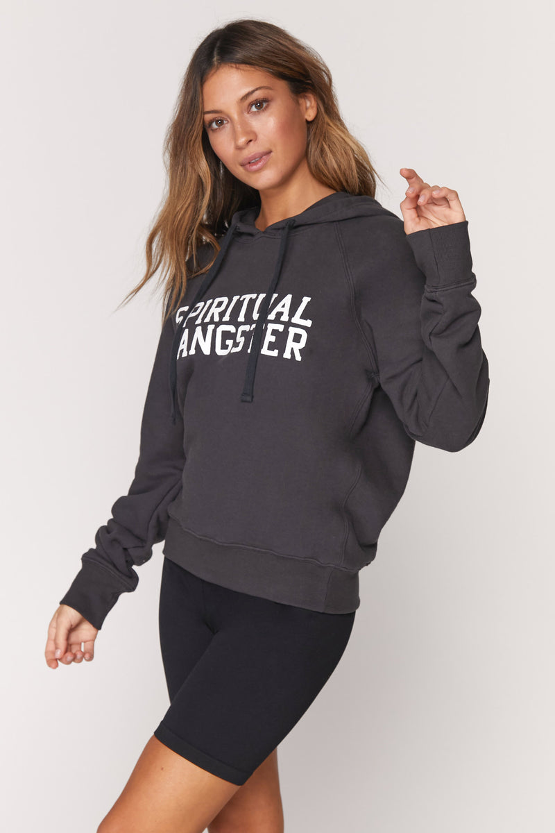SPIRITUAL GANGSTER VARSITY CLASSIC PULLOVER HOODIE