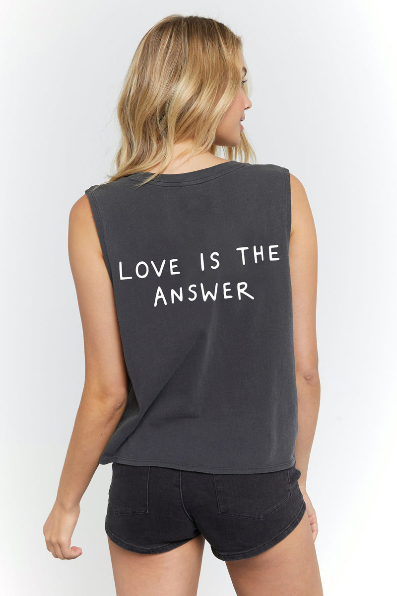 LOVE IS THE ANSWER DEEP V TANK