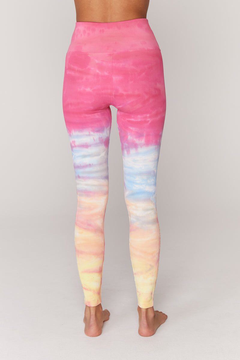 Self Love Legging Sunrise Dip Dye