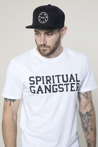 SG High Vibration Snapback Black - Spiritual Gangster - 2