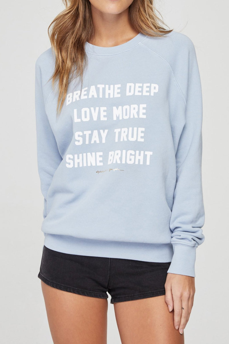 Breathe Deep Classic Sweatshirt