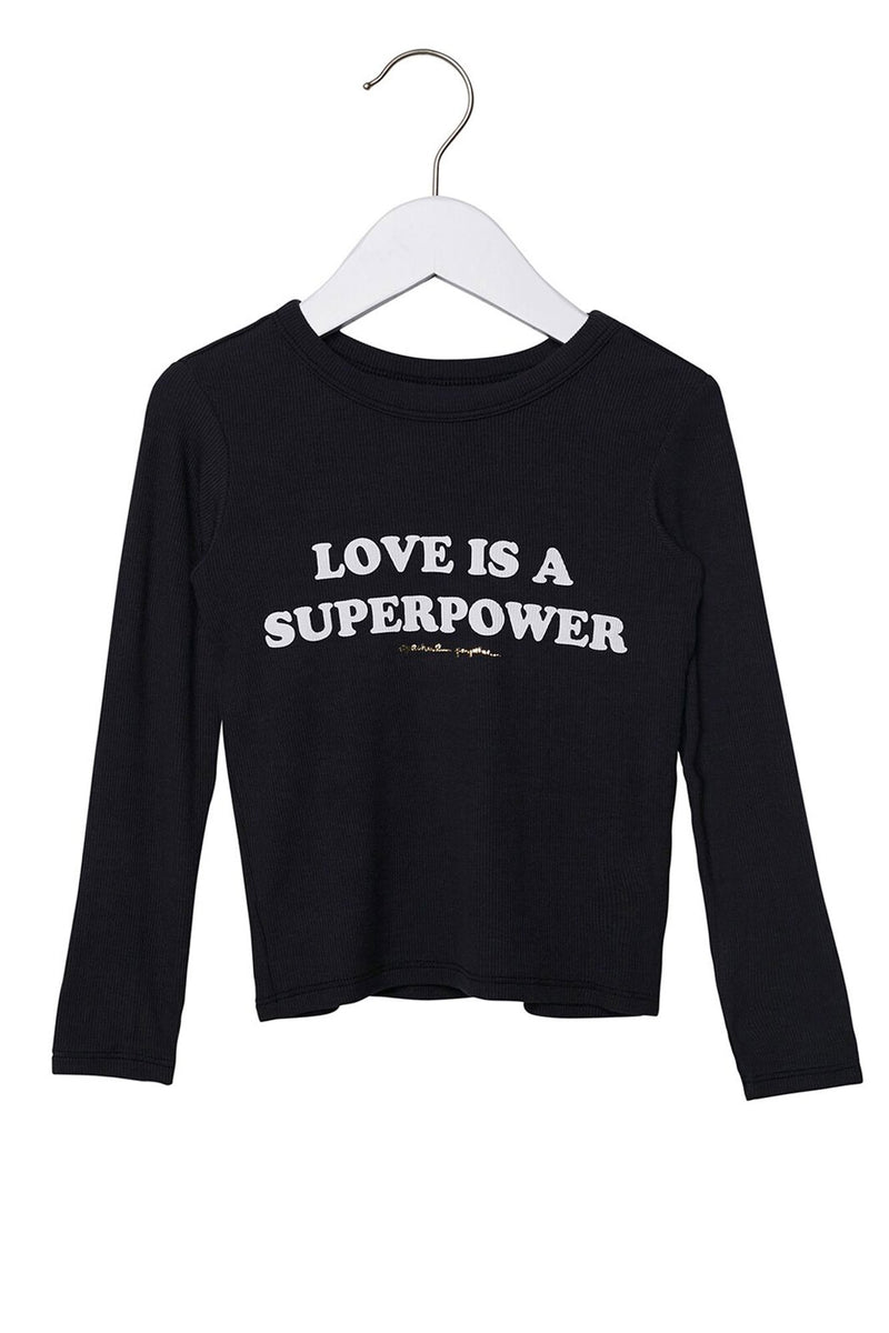 Love Is A Superpower Kids Long Sleeve Top