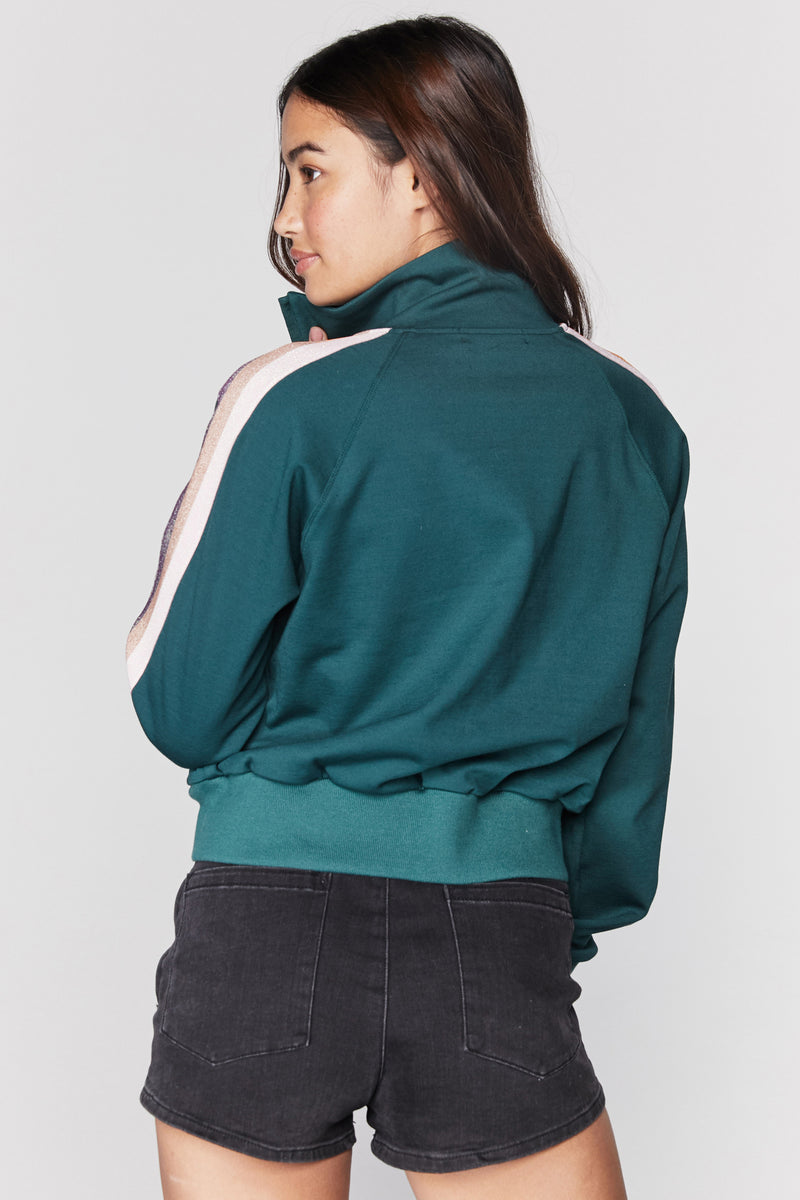 ZIP UP CLASSIC TRACK JACKET