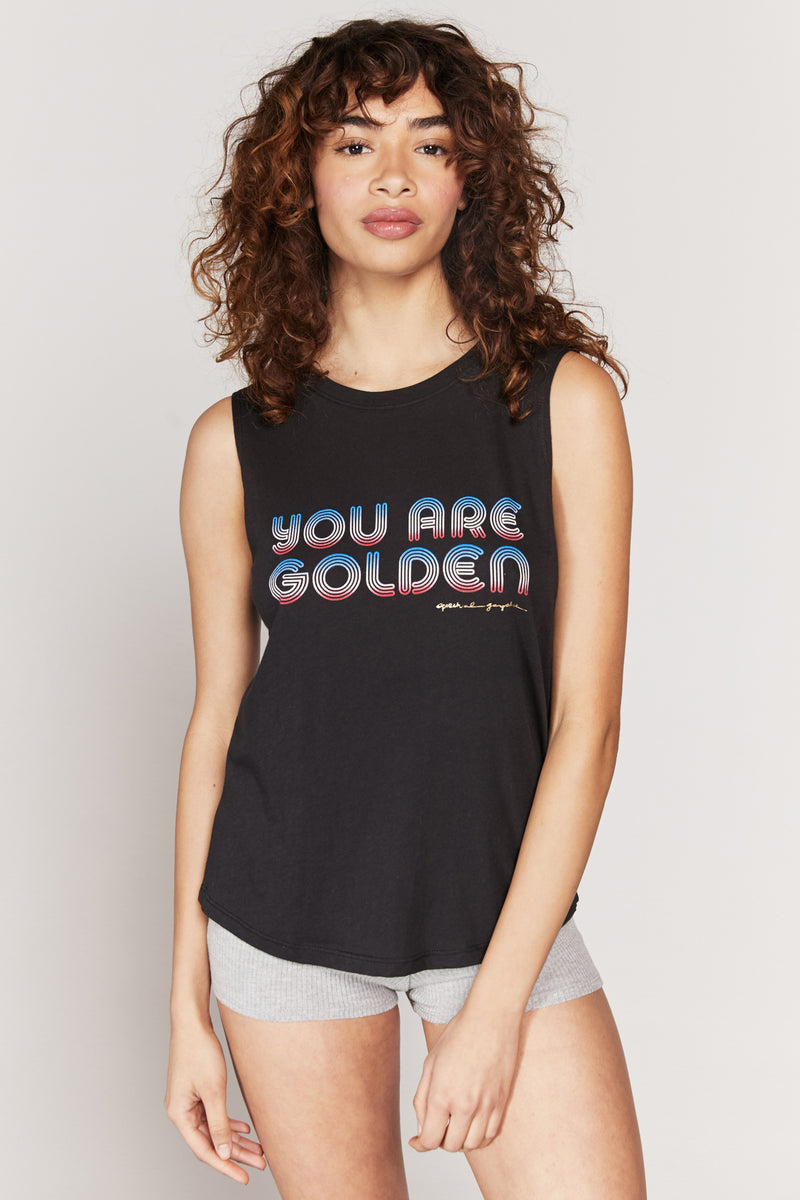 You Are Golden Muscle Tank