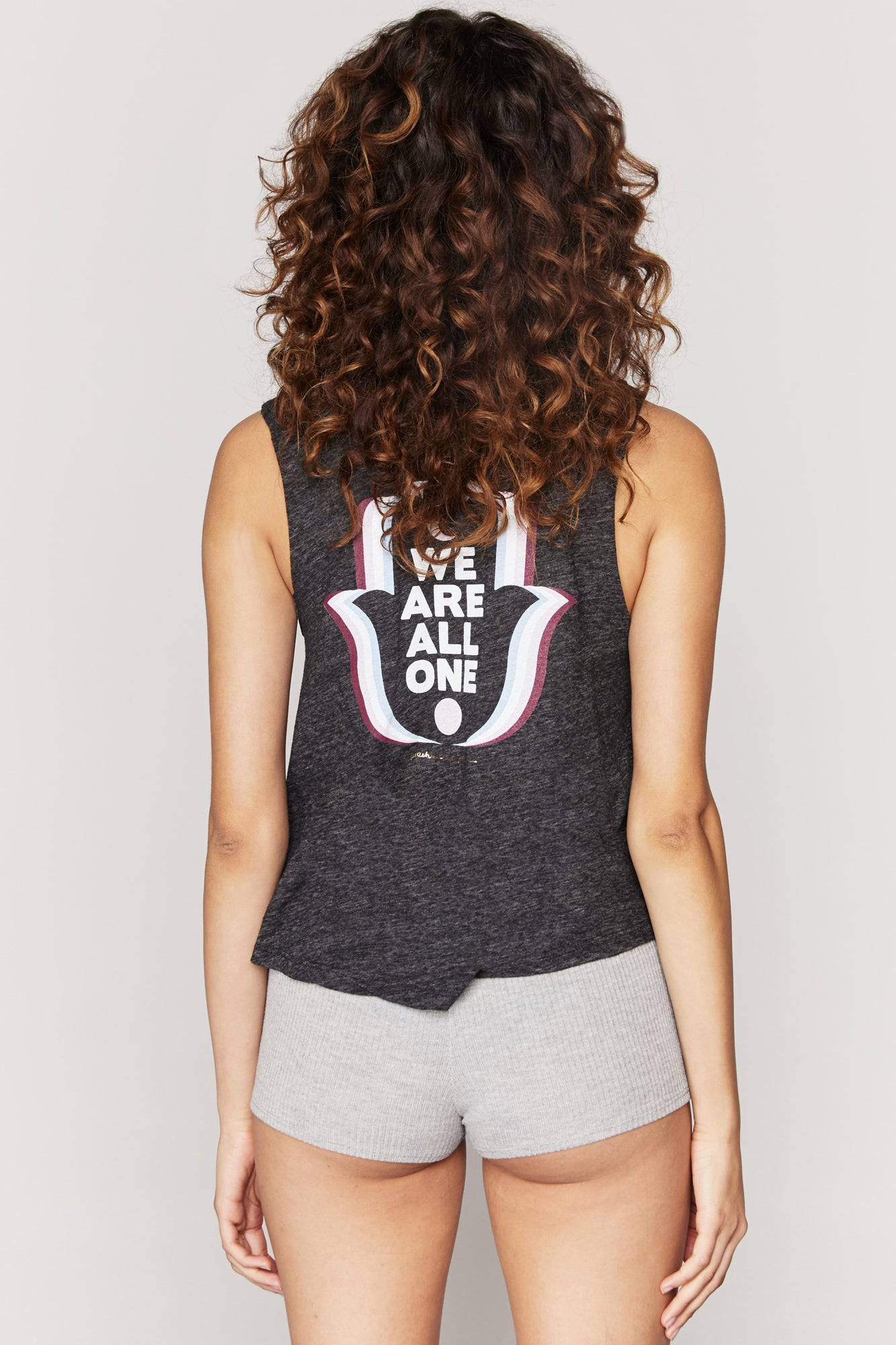 WE ARE ALL ONE CROP TANK