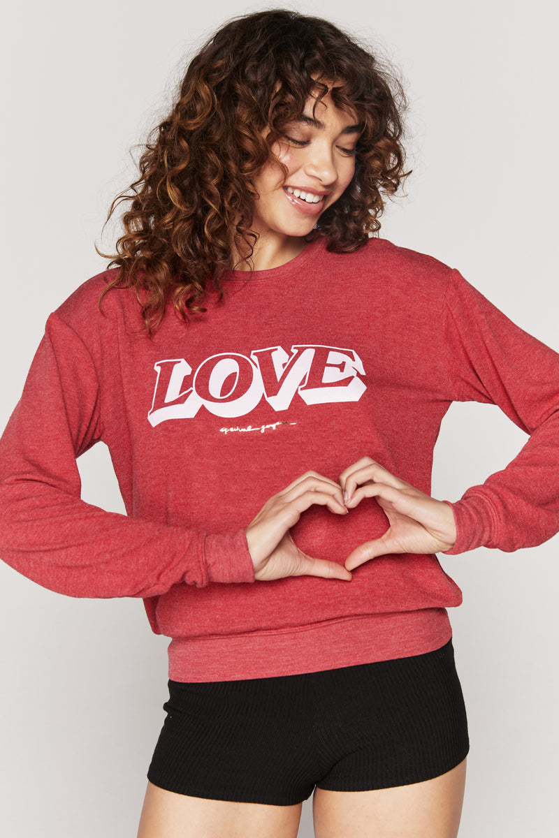 Love Savasana Pullover