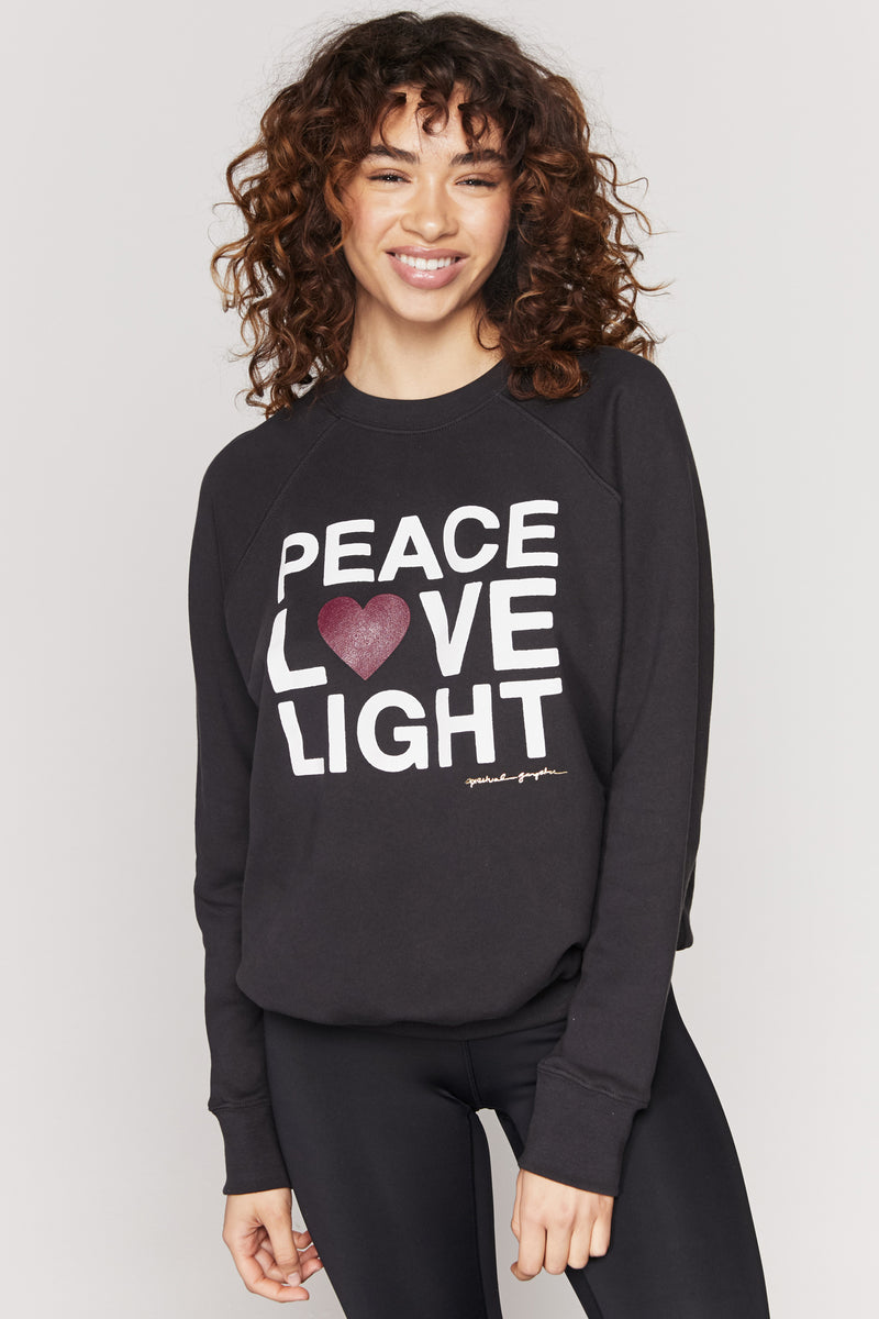 Peace Love Light Classic Sweatshirt