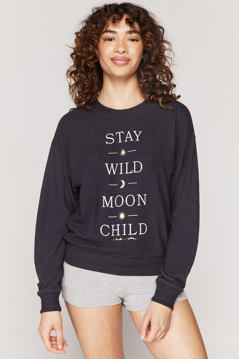 Moon Child Malibu Hacci Pullover